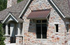 Chilton Full color veneer by Eden Stone Garage Doors, Exterior, Windows, Stone, Outdoor Decor, House, Color, Home Decor, Rock