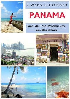 Visiting Panama for 2 weeks? Here is our itinerary for ideas, we visited San Blas Islands, Panama City and Bocas del Toro mytanfeet.com/...