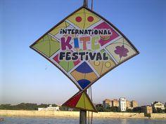 International Kite Festival 2013, Ahmedabad, Gujarat, India