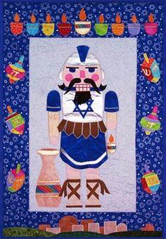 Hanukkah Nutcracker Applique' Wall Hanging Pattern from Stitch Em Up