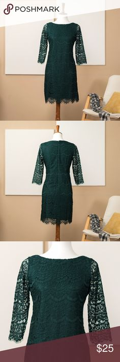 JESSICA HOWARD Sheath Lace Dress New without tags. 100% Polyester, Lining 100% Polyester. Bundle and save 15% off 2+ items! Jessica Howard Dresses