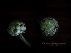Food photography and styling : Artichokes by Helena Ljunggren