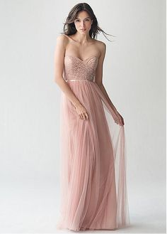 b4b7594c51ff Buy discount Gorgeous Lace  amp  Tulle Sweetheart Neckline Full Length  A-line Bridesmaid Dresses