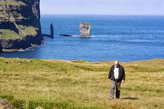 I vesterveg: Vidareidi, Færøyane Mountains, Nature, Naturaleza, Nature Illustration, Bergen, Scenery, Natural