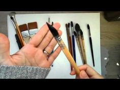 Easier Negative Painting in Watercolour: Live Broadcast Recording - YouTube