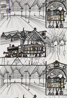 Google Afbeeldingen resultaat voor http://retrorenovatio.wpengine.netdna-cdn.com/wp-content/uploads/2010/01/schumacher-wallpaper-by-saul-steinberg-trains.jpg