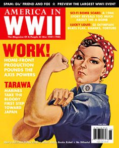 Rosey the Riveter My mother-in-law and her twin sister  were riveters in Oklahoma City
