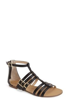 Free shipping and returns on Sole Society 'Jemarie' Gladiator Sandal (Women) at Nordstrom.com. A season-favorite gladiator sandal is neatly poised with two sets of triple straps. The easy, eye-pleasing palette means even more of your wardrobe has met its match.