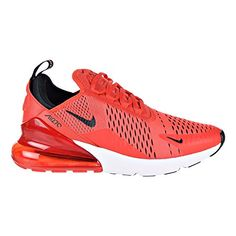 reputable site 0e66d 73ffe Beautiful Nike Air Max 270 Men s Shoes Habanero Red Black White ah8050-601