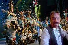 Grupo Mascarada Carnaval: Jorge Álvarez vuelve a diseñar .