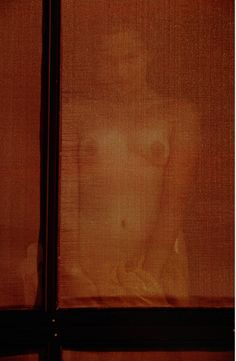 Reflection (nude) by Saul Leiter