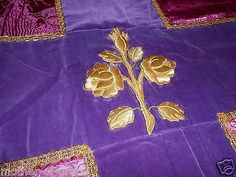 funeral pall embroidery