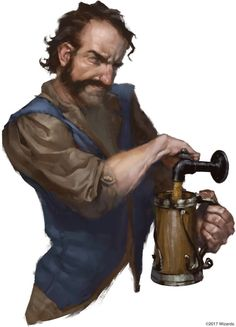 Tales from the Yawning Portal Barman
