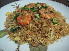 Nasi Goreng, Fried Rice, Bon Appetit, Fries, Food Porn, Cooking Recipes, Ethnic Recipes, Kitchen, Cucina