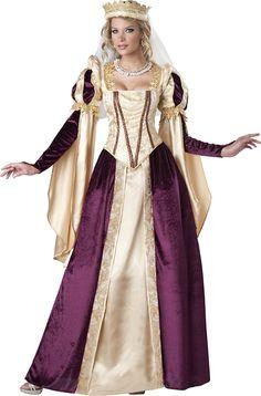 Disfraz Princesa medieval mujer Premium: Amazon.es: Juguetes y juegos