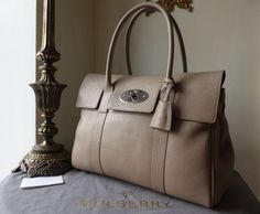 Mulberry Bayswater in Putty Pebbled Leather > http://www.npnbags.co.uk/naughtipidginsnestshop/prod_4045866-Mulberry-Bayswater-in-Putty-Pebbled-Leather-New.html