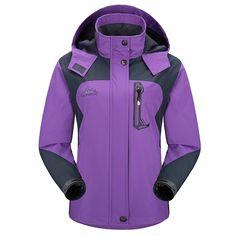 Diamond Candy Sportswear Women's Hooded Softshell Raincoat Waterproof Jacket – Shop2online best woman's fashion products designed to provide