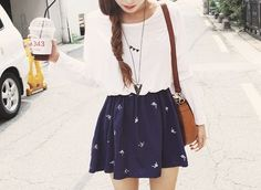 I'm in love with skater skirts!