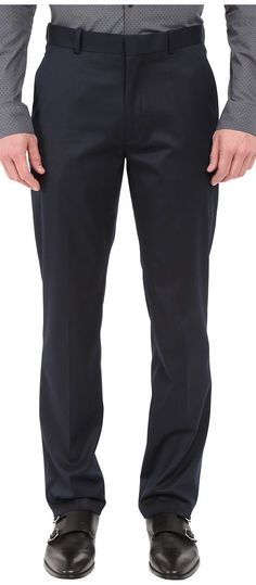 Perry Ellis Portfolio Slim Fit Pants (Navy) Men's Dress Pants - Perry Ellis Portfolio, Slim Fit Pants, 5HFB0003-401, Apparel Bottom Dress Pants, Dress Pants, Bottom, Apparel, Clothes Clothing, Gift, - Fashion Ideas To Inspire