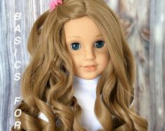 Coral Caramel American Girl muñeca ombre peluca Se adapta a la | Etsy American Girl, Curly Iron, Life Isnt Fair, Coral, Ombre Wigs, Hair Density, Wig Making, Cut And Style, Girl Dolls