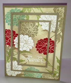 Fabulous Florets - Triple Time Stamping