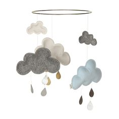 Keep your baby entertained with our delightful Scandinavian baby cot mobiles. Our Baby Mobiles come in a variety of styles & designs. Scandinavian Wallpaper, Scandinavian Nursery, Cloud Mobile, Baby Mobile, Baby Design, Mobiles For Kids, Minimalist Nursery, Gallery Of Modern Art, Woodland Nursery