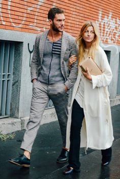 Stylish Couple Winter Inspiration. I recently... | MenStyle1- Men's Style Blog