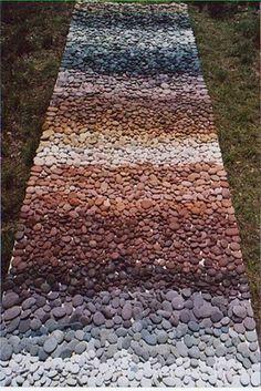 pebble gradient path