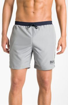 BOSS Black 'Starfish' Volley Swim Shorts | Nordstrom