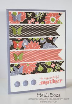 Stuck on Stampin': in celebration of mothers (pp94)