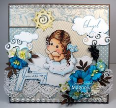 New card using Magnolia Stamps from Magnolia-licious http://magnoliastamps.us…