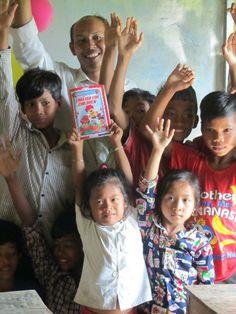 Hopeful Children Center Cambodja ook op Facebook: https://www.facebook.com/HopefulChildrenCenter