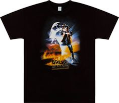 Michael J Fox Back To The Future Shirt