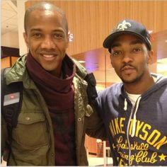 J. August Richards, Anthony Mackie || Instagram || 614px × 615px || #cast