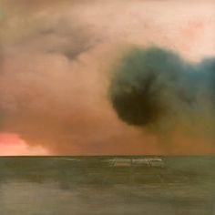 Christopher Saunders' Ominous Landscape Paintings | Beautiful/Decay Artist & Design