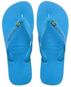 27f287ad86fb24 Unisex Havaianas Brasil - Turquoise Havaianas