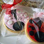 First Birthday Ladybug Cookies » Cookies