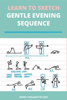Yoga Nidra, Yoga Sequences, Yin Yoga, Yoga Meditation, Yoga Stick Figures, Learn To Sketch, Yoga For Stress Relief, Yoga Teacher Training, Yoga Quotes