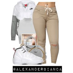 SIMPLE by alexanderbianca on Polyvore featuring polyvore, fashion, style, NIKE, Givenchy, Retrò and clothing