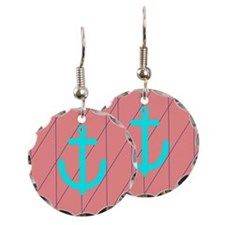 Christian Anchor Earring