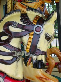 Carousel horse In Motion