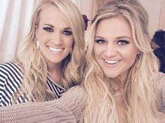Two of my absolute fave country stars. Carrie Underwood and Kelsea Ballerini! Country Music Artists, Country Music Stars, Country Songs, Country Female Singers, Country Musicians, Cute N Country, Country Girls, Country Outfits, Carrie Underwood Pictures