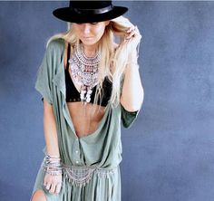 Hot Ethnic Tribal Boho Coin Necklace Belly Dance Bohemian Festival Gypsy Jewelry #Handmade