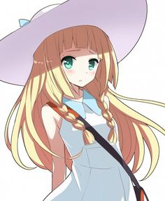 Lillie Sun and Moon