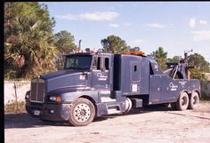 Palm City Florida Roberts Towing  Kenworth T600 Mid 90's