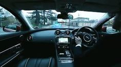 """The """"360 Virtual Urban Windscreen"""" and """"Follow-Me Ghost Car ... The video below provides an introduction to Jaguar Land Rover's research in"""