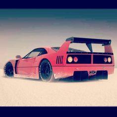 The Iconic Ferrari F40