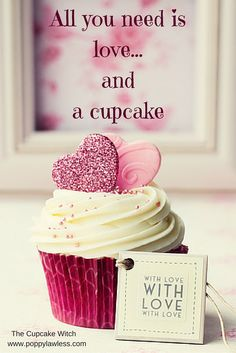 Valentine Day Cupcakes, Love Cupcakes, All You Need Is Love, Vanilla Cake, Poppy, Fairy Tales, Witch, Amazon, Sweet