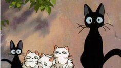 Hayao Miyazaki: Jiji and Family