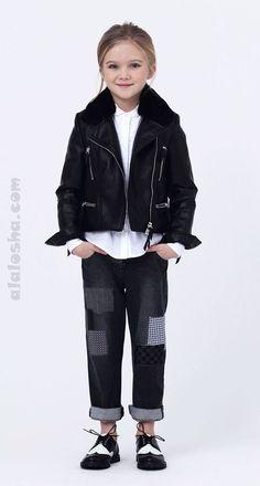 Детская коллекция  одежды Осень/Зима 2015 от успешного итальянского Дома моды Ermanno Scervino замечательным образом соединяет в себе элементы романтических настроений со свободой движений уличной моды.